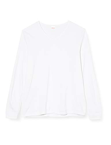 Damart tee Shirt Manches Longues Col V Camiseta, Blanco, X52 (Taille Fabricant: XL) para Hombre