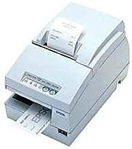 Epson C31C283A8941 TM-U675 Dot Matrix Receipt, Slip and Validation Printer, 9 Pin, USB Interface, Without MICR/Autocutter, Cool White
