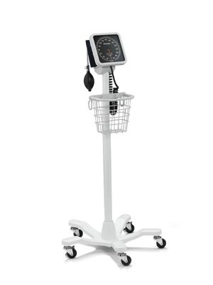 Welch Allyn 7670-03 767 Mobile Aneroid with Reusable FlexiPort Cuff, Adult