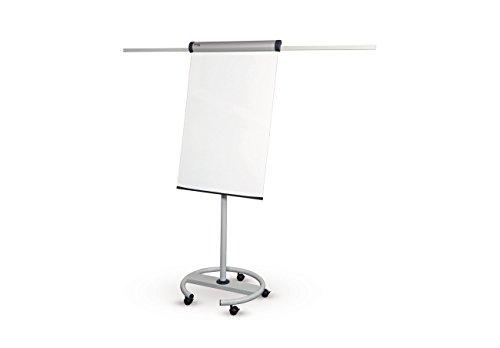 MAUL 63728–82 paperboard Mobile Solid Plus, tableau : (L) 660 x (H) 970 mm