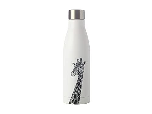 Maxwell & Williams JR0015 Marini Ferlazzo Trinkflasche aus Edelstahl, Schwarz, Weiß, 500 ml