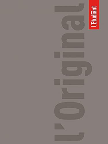 L ETUDIANT Original Agenda Scolaire Aout 2021 ‐ Août 2022 Journalier Format 15x20cm Couverture Taupe