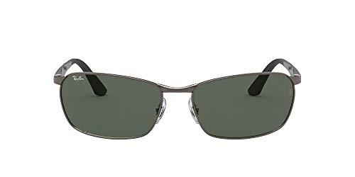 Ray-Ban 0Rb3534 Gafas de sol, Gunmetal, 59 para Hombre