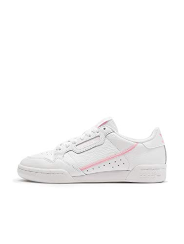 adidas Womens Continental 80 Sneaker, Cloud White/True Pink/Clear Pink, 38 EU