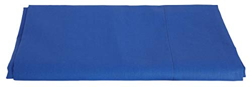 Cotton & Color lakens voor Frans bed, blauw
