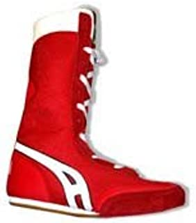 Main Event Boxing Shoe - Red