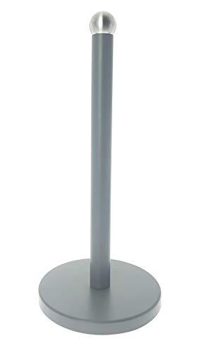 Acero Inoxidable, Revestimiento de Color, Blanco Mate, 15 cm Novel Solutions DS-5026 Soporte para Rollo de Papel de Cocina