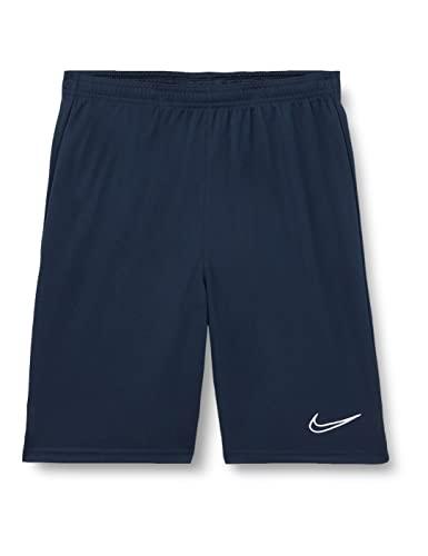 NIKE Y NK Dry ACD21 Short K Shorts, Unisex-Child, Obsidian/White/White/White, XL