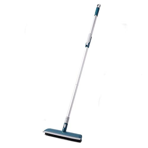 CFSN Cepillo de Limpieza Scrub Durable Ducha Scrubber con Mango Largo Extensible 51'Tina y Cepillo de azulejo Cepillo Handle Hombre Largo 0717
