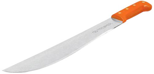 Truper 15888 Tapered Steel Blade Machete with Molded Handle, 24-Inch
