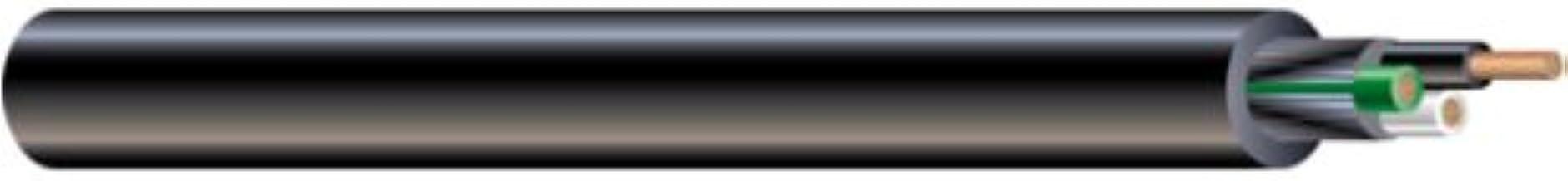 Southwire 55039621 300 Volt 25-Feet 16-Gauge 3 Conductor 12/3 Quantum TPE SJEOOW Portable Flexible Power Cord, Black