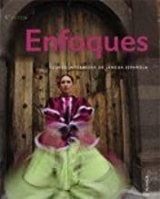 Enfoques 4th Ed Student Edition with Supersite Plus Code (Supersite and vText) and Student Activities manual