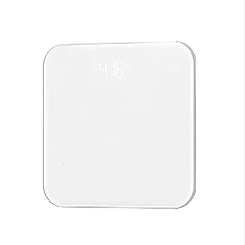 Weathervanes Cuarto de baño Peso Corporal Smart Electronic Scale Home Health Escala de Peso Adulto USB Recarga Bluetooth Cuerpo Escala de Grasa Humana Reconocimiento Ilimitado Peso Corporal