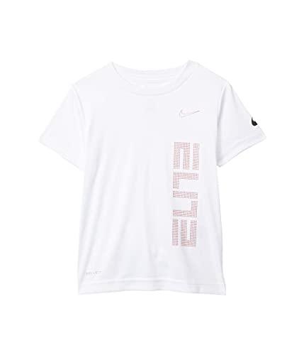 Nike Baby Boy's Elite Graphic T-Shirt (Toddler) White 4T Toddler