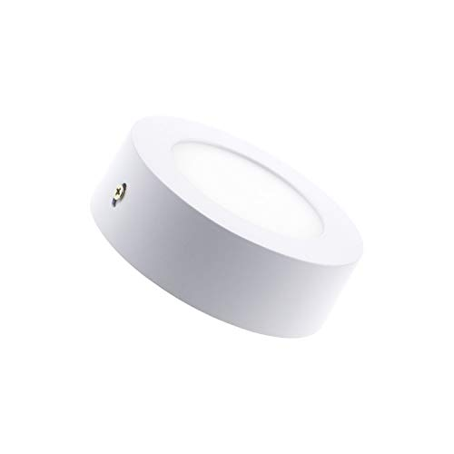 LEDKIA LIGHTING Plafón LED 6W Circular Blanco Neutro 4000K - 4500K