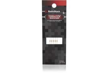 RadioShack 1/8-Watt 330 Ohm Carbon Film Resistors (5-Pack)