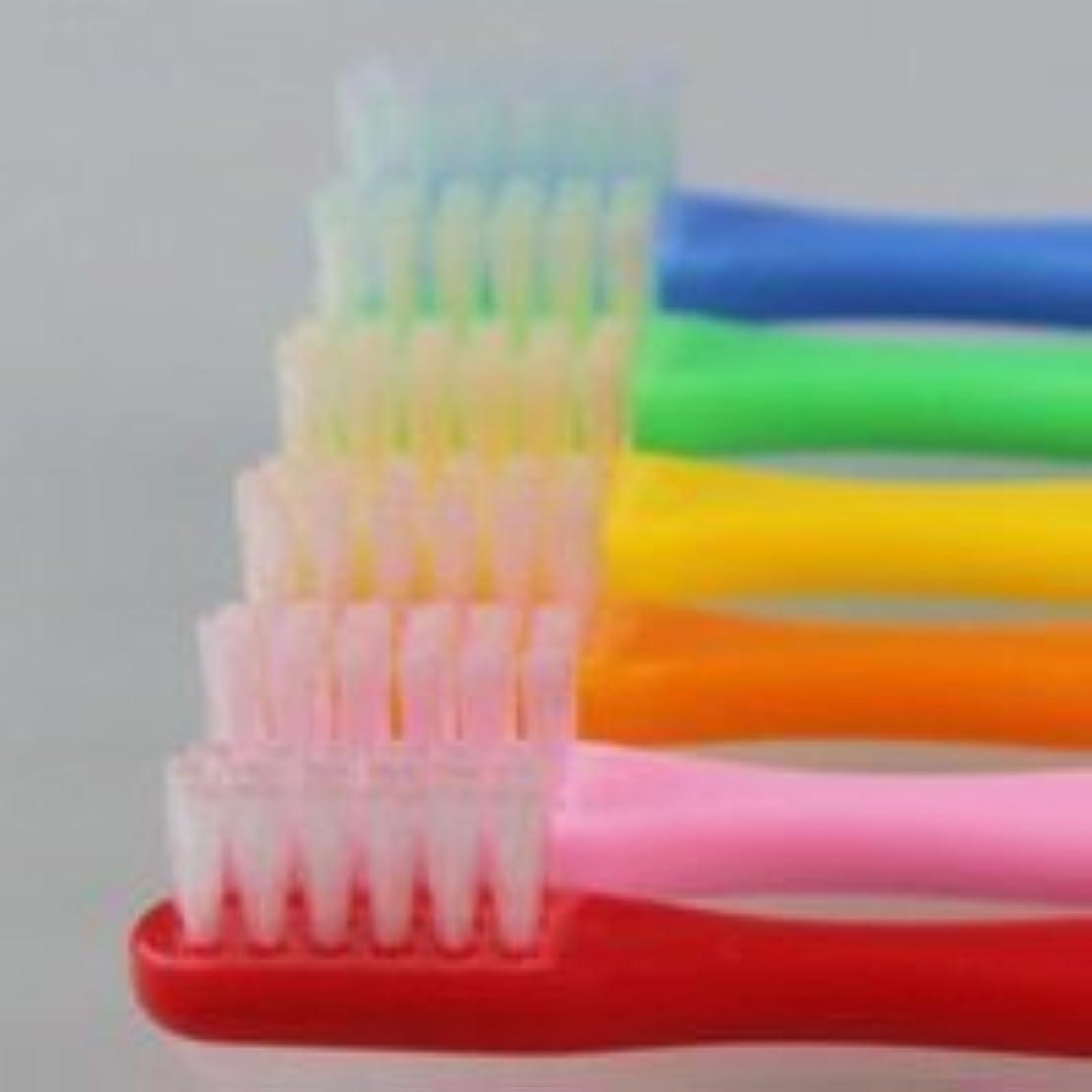 紳士ガウン牛肉サムフレンド 歯ブラシ #10(乳歯~6才向け) 6本 ※お色は当店お任せです