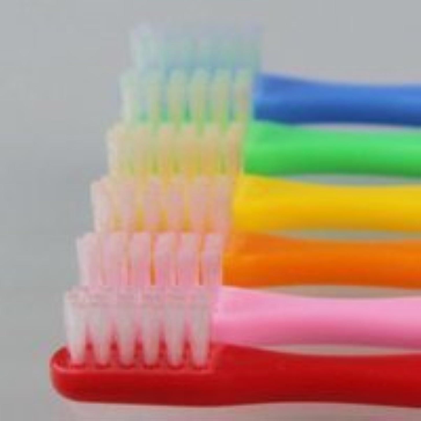 気味の悪いプランテーション足サムフレンド 歯ブラシ #10(乳歯~6才向け) 6本 ※お色は当店お任せです