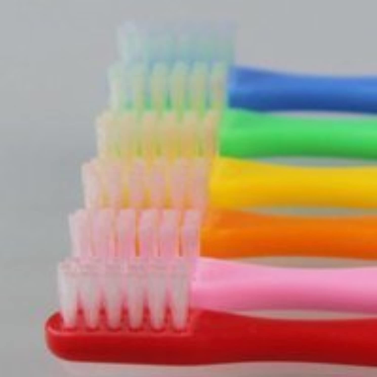 トロピカル疎外する定常サムフレンド 歯ブラシ #10(乳歯~6才向け) 6本 ※お色は当店お任せです