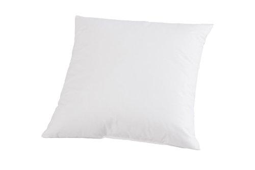 Böhmerwald 749600-37 - Cojín para sofá con Relleno de Fibra (50 x 50 cm), Color Blanco