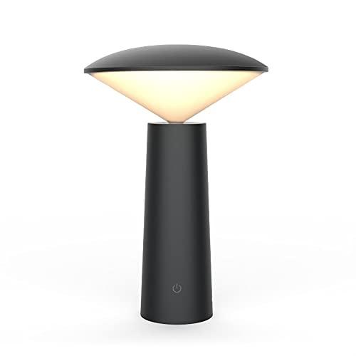 Xyxiaolun Lámpara de Mesa Led de Lectura con protección Ocular nórdica, Cabezal de lámpara Giratorio, lámpara de Mesa táctil de Carga USB, luz de Noche de Noche para Dormitorio Dormitorio
