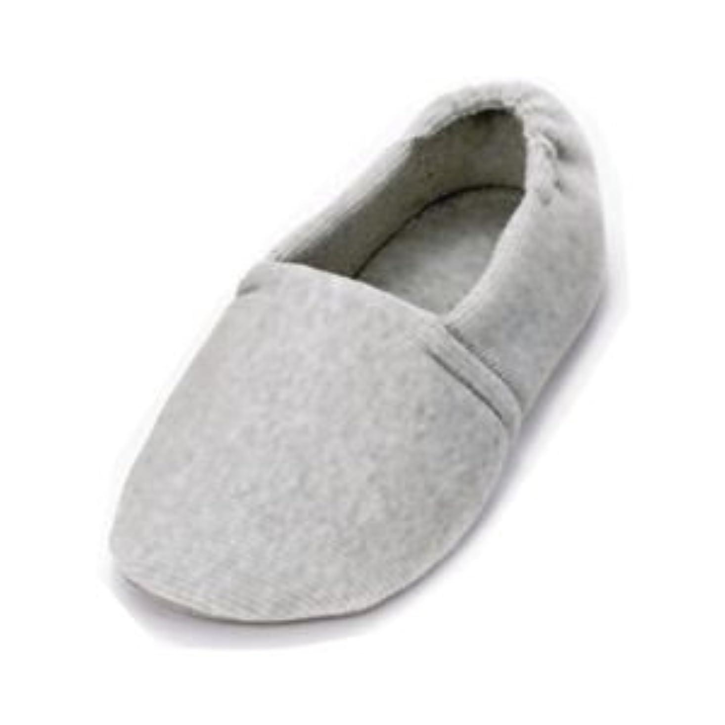いたずらな極めて重要なギネス介護靴 室内用 エスパドワイド 2704 両足 徳武産業 あゆみシリーズ /S(20.5~21.5cm) グレー