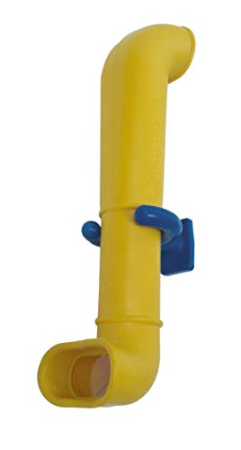 Loggyland Periskop - Sehrohr für Spielturm Teleskop um die Ecke gucken für Spielturm Kletterturm oder Spielhaus- damit Lassen Sich Spione schnell entdecken (gelb)
