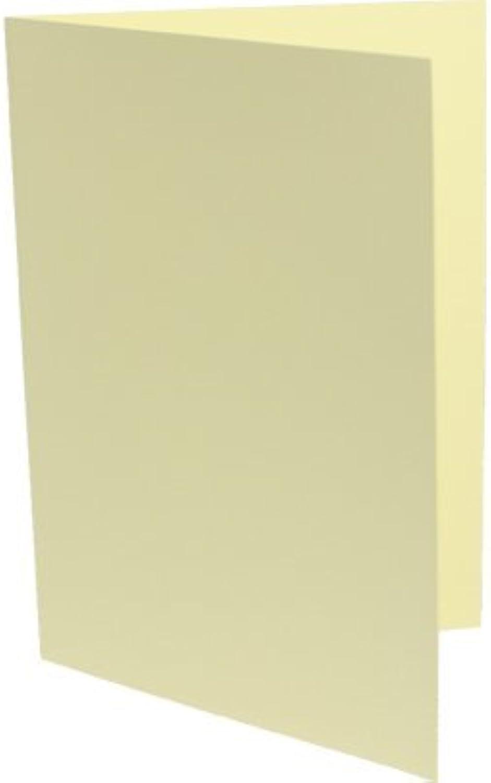 K&L 100 Klappkarten DIN A6 gelb B003KVK376 | Schönes Design