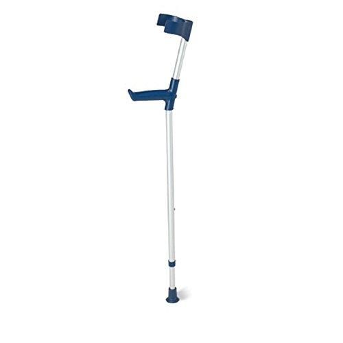 Sunrise Medical, S.L.U. QA-00180/01 - Bastón aluminio regulable en altura ud (azul) unitario