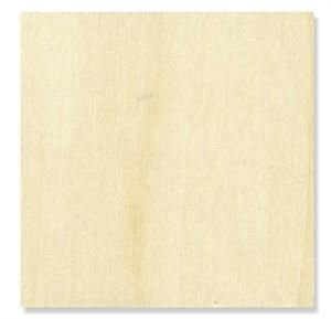 1 Pc, 15 Inch X 1/8' Thick Plywood Squares Easy To Paint Or Stain