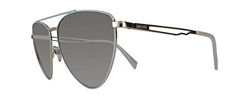 Just Cavalli JC839S 20C 57 Gafas de sol, Gris (Grigio), Unisex Adulto