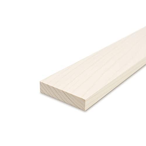 Glattkantbrett - Kiefer/Fichte gehobelt - 19 mm x 100 mm x 600mm