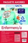 Paquete Ahorro Enfermero/a del Servicio de Salud de Castilla y León (SACYL). Ahorra 127 € (Temario volúmenes 1, 2, 3 y 4; Test; Simulacros de examen; acceso a Campus Oro)
