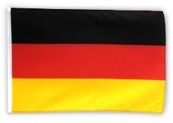 Fahne Flagge Deutschland 60 x 90 cm mit 2 Ösen