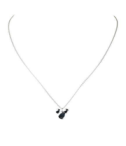 SIX Halskette aus 925er Silber mit Mickey Maus Anhänger, Halsschmuck, Disney (386-378)