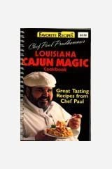 Chef Paul Prudhomme's Louisiana Cajun Magic Cookbook Spiral-bound