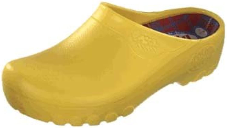 Jolly Kunststoff-Clogs ''Jolly Fashion Clog'' aus PU in Gelb 39.0 EU R  | Spielen Sie das Beste