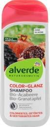 alverde NATURKOSMETIK Shampoo Color Glanz, 1 x 200 ml
