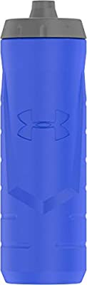 Under Armour Sideline 32 Ounce Squeezable Bottle, Blue