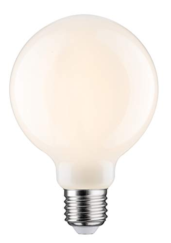 Paulmann 284.87 LED Globe Ø95mm 6W E27 Opal Warmweiß dimmbar 28487 Leuchtmittel Lampe