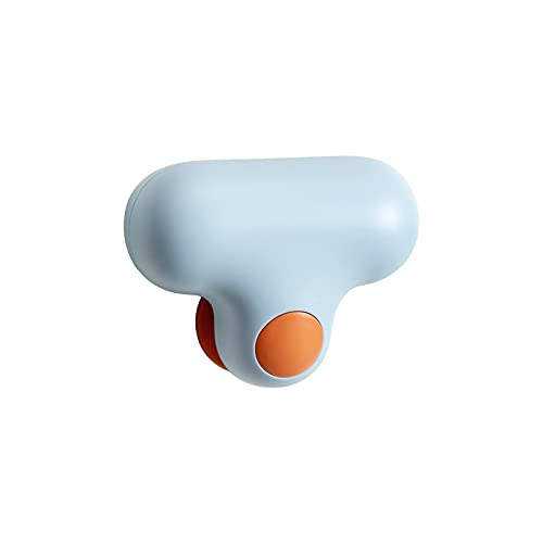 Espejo del hogar Toallita de baño Espejo de cristal Cepillo de limpieza Cepillo de descalcificación Cepillo de ventana Descontaminación de la encimera Limpiaparabrisas (azul)