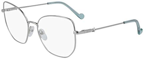 LIU JO OPTICAL MODEL LJ2145 COLOR ZILVER Frame grootte 55mm BRIDGE grootte 17mm