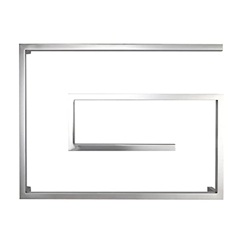 QTWW Toallero Multifuncional Toallero eléctrico Inteligente con Indicadores LCD Termostato Incorporado, Temporizador...