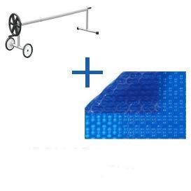 Gurtwickler und Heizdecke 2X 6M für Pool Geo Bubble 400micron