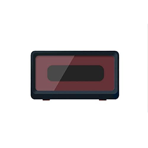 Pared Soporte Impermeable Teléfono de Ducha Artefacto Impermeable de la TV del Reloj de la Ducha del Cuarto de baño de la Caja del teléfono móvil,Blue