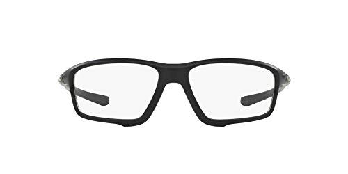 Oakley 8076, Gafas de Sol para Hombre, Negro (Satin Black), 56