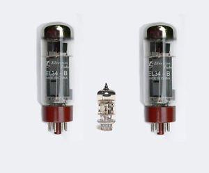 Jellyfish Audio EL3412AX7/ECC83Válvula Kit para jmd50/jmd501/3203/4203Marshall Amplificadores De Guitarra