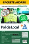 Paquete Ahorro Policía Local de Andalucía. Ahorra 65 € (incluye Temario volúmenes 1 y 2; Test; Supuestos prácticos y acceso gratis a Curso Oro)