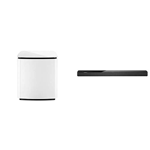 Bose Bass Module 700 - White- Wireless, Compact Subwoofer & Soundbar 700 with Alexa Voice Control Built-in, Black