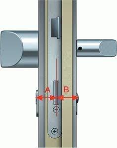 SOREX FLEX - Türschloss biometrisch mit deutschem Support! Türöffner mit Fingerabdruck und RFID Zylinder inkl. Batterien | Keine Schlüssel nötig | Keyless Smart Lock | elektronisches Schloss - 6